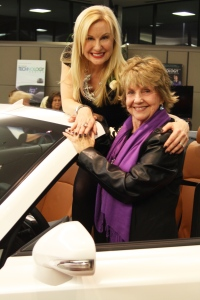 Jane and I sharing our Rodan+Fields Lexus Celebration together